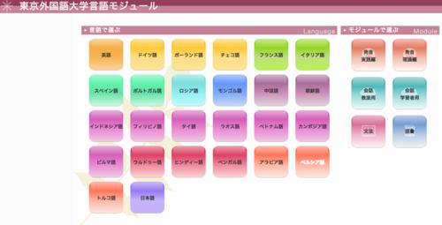 外語モジュール
